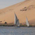 Der Nil bei Aswan