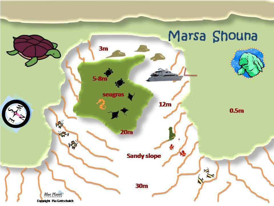 Dive Site Maps Red Sea Liveaboards - Map of egypt marsa alam