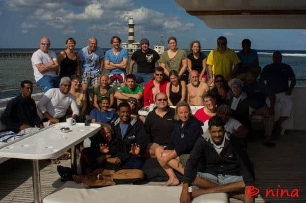 Trip Report MY Blue Seas 20.11. - 27.11.2014