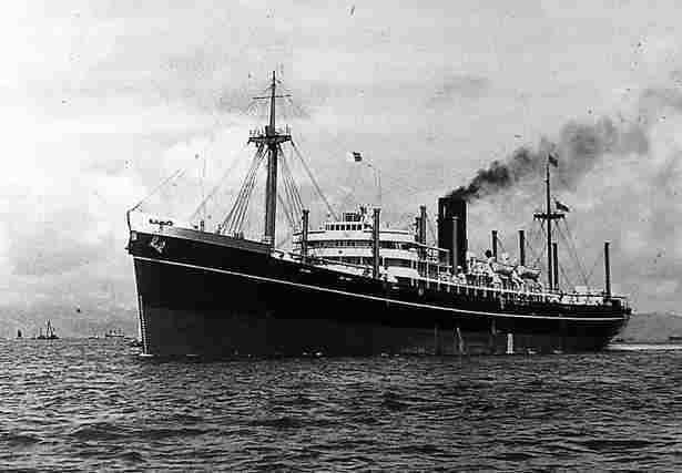 Wrack der SS Shillong