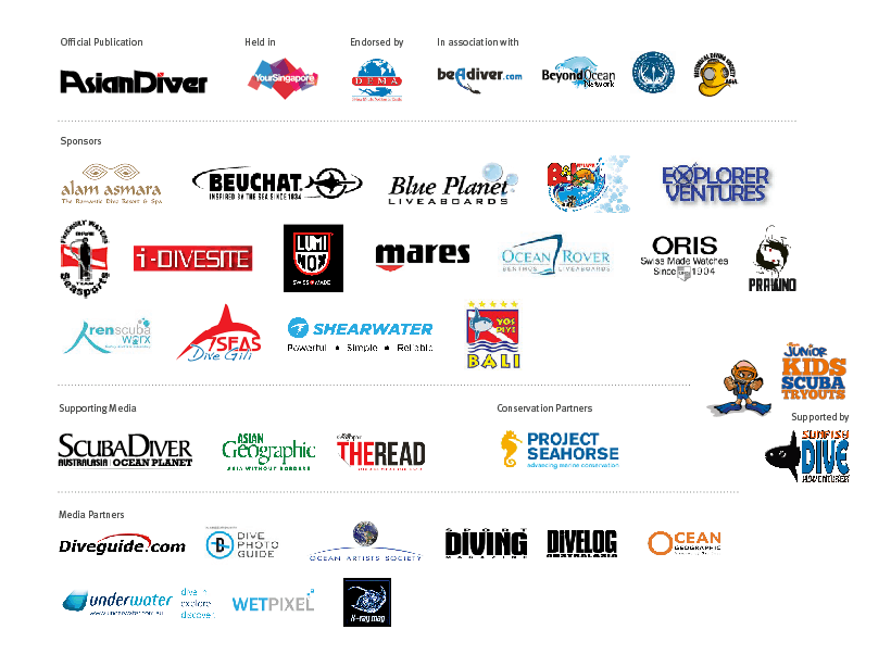 ADEX 2015 (Singapore 10-12 April) Supporting sponsors and Media