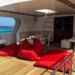 Sun deck - MY Blue Seas