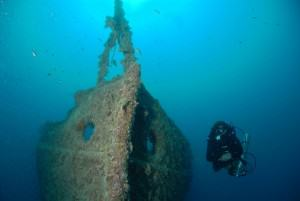 Rosalie Moller Top Dive Spot Nord und Wracks