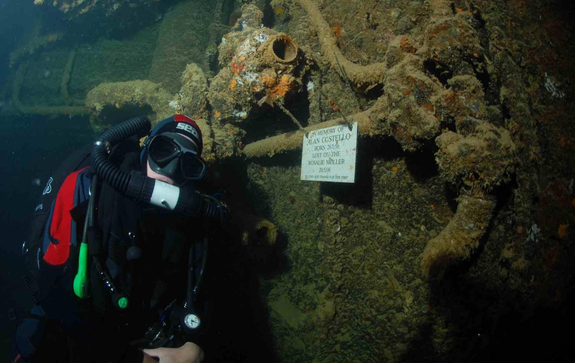 Wreck of the Rosalie Moller • Red Sea Liveaboards